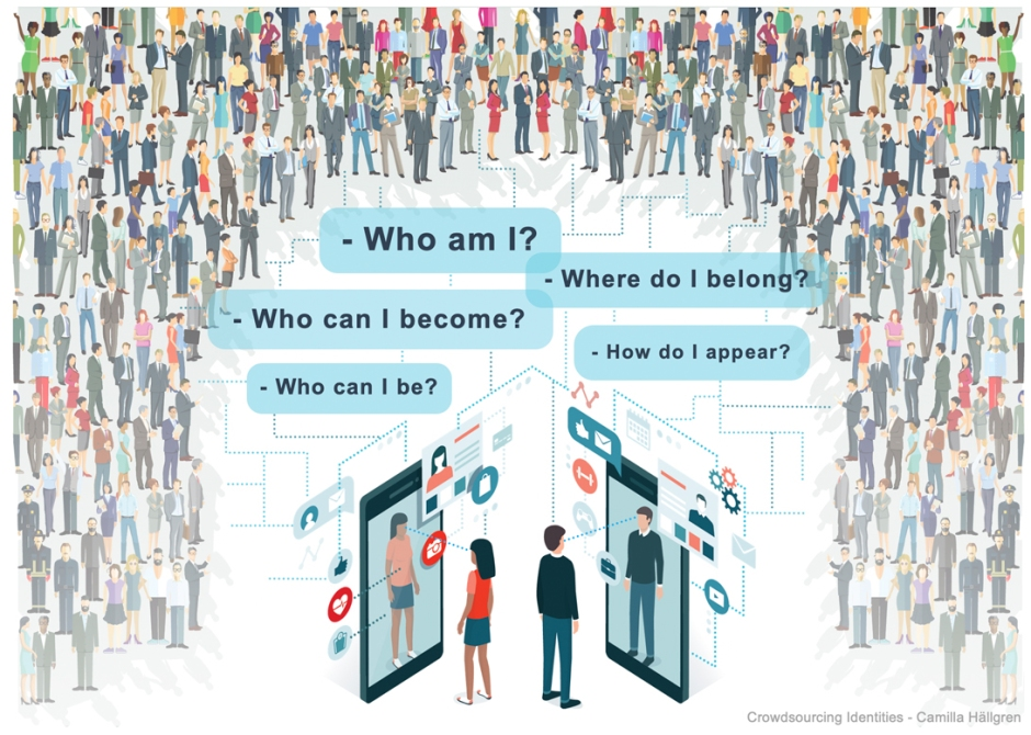 Crowdsourcing identities